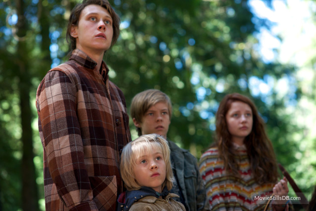 CAPTAIN FANTASTIC, from left: George MacKay, Charlie Shotwell, Nicholas Hamilton, Samantha Isler,