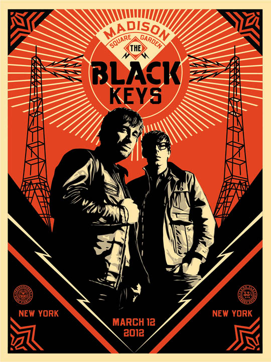 BLACK kEYS posters finals