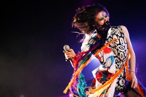 Yeah Yeah Yeahs perform at the Hordern Pavilion Sydney, 8/1/10