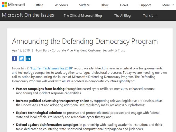MicrosoftDemocracy