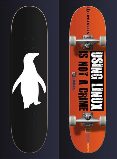 Skater-Tux-skateboard