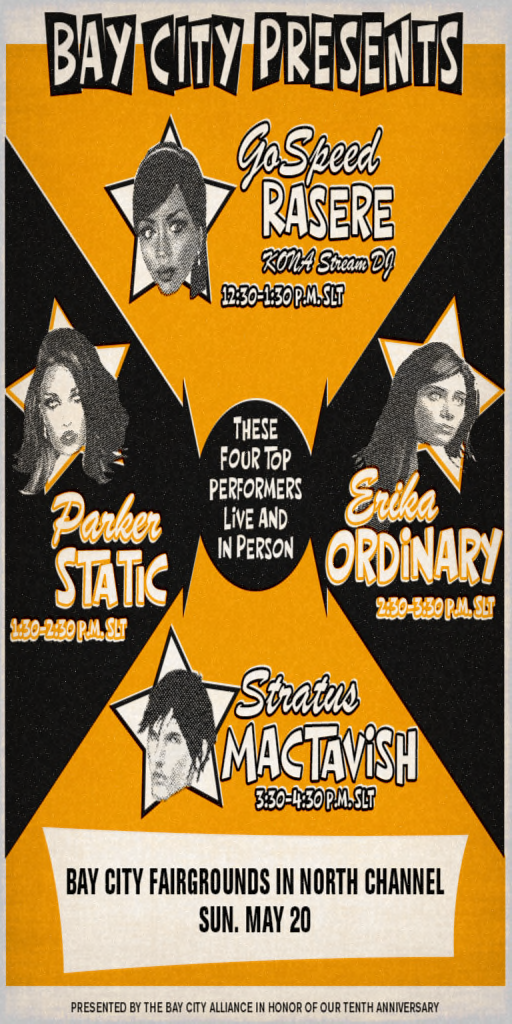 Tenth Concert Poster