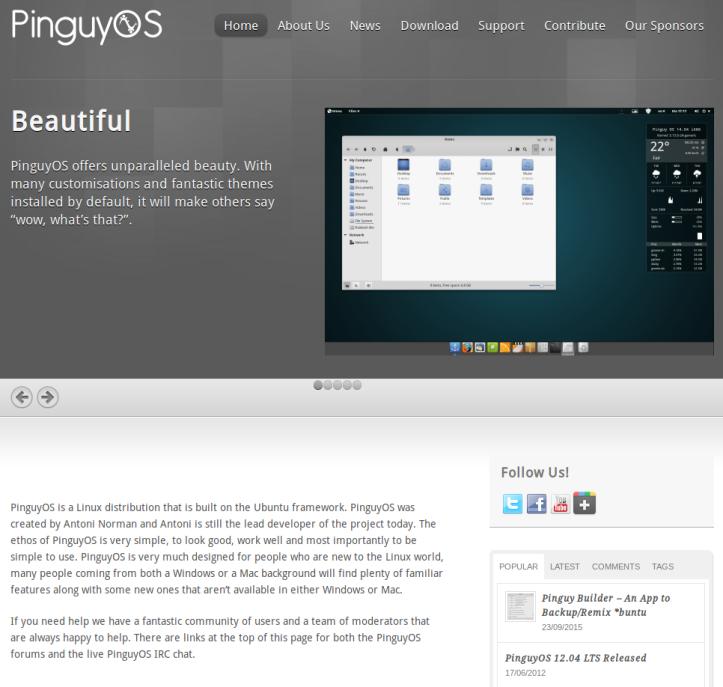 PinguyWebsite