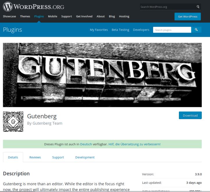 GutenbergPlugin