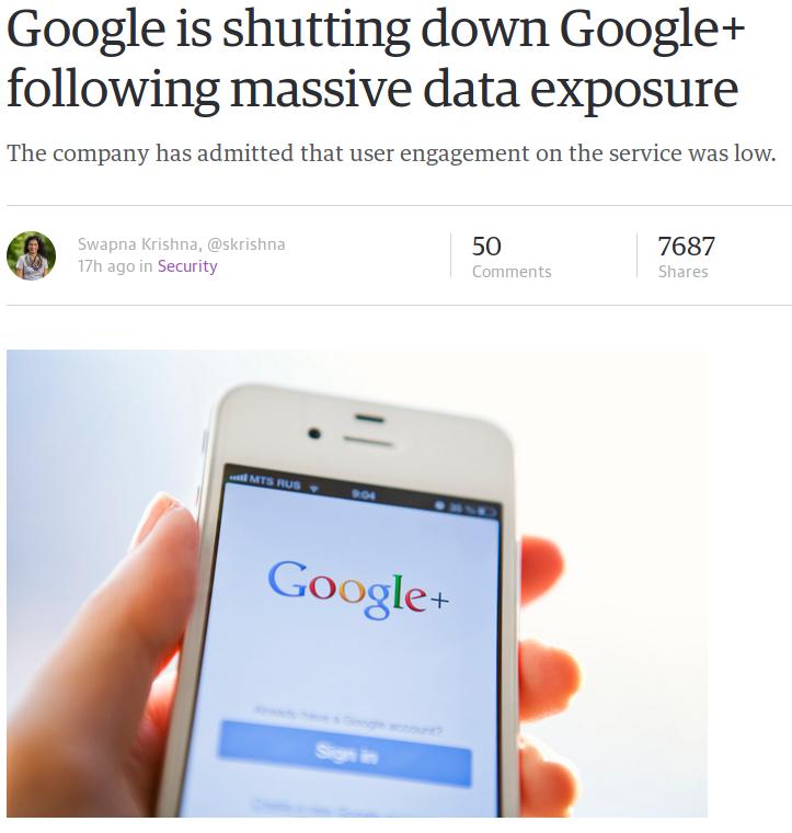 Google+ShutDown