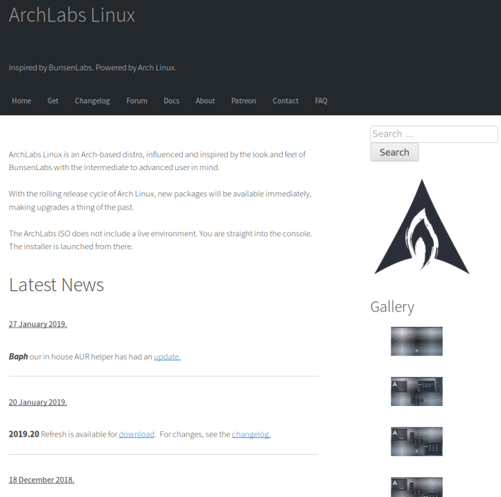 ArchLabsHome