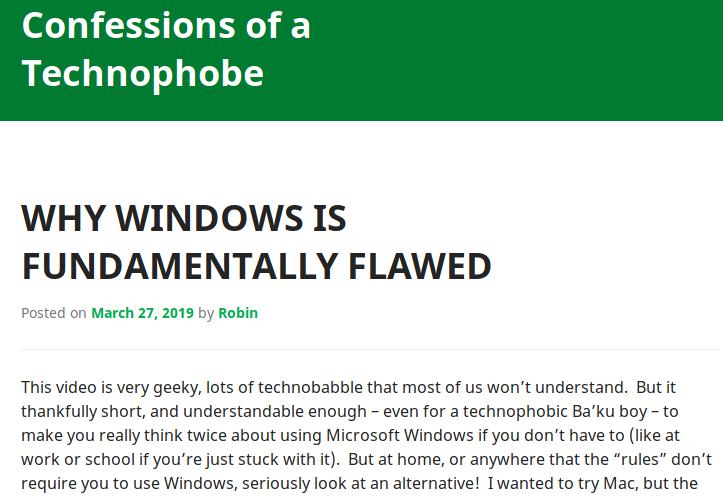 technophobe