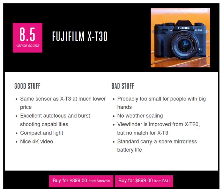 FujiX-T30