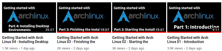Arch Linux: Why Not? – Thar She Blows!