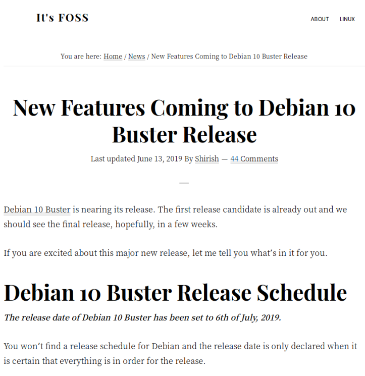DEBIAN BUSTER EXPECTED RELEASE DATE - This Week in Linux on