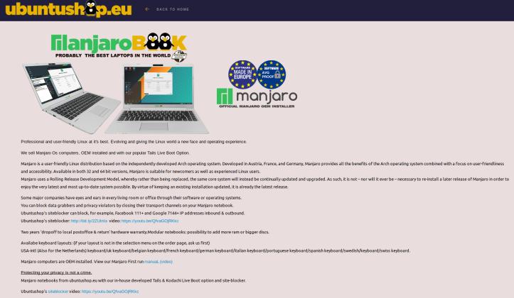 ManjaroBook