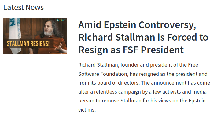 StallmanFired