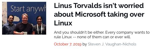 MicrosoftLinux
