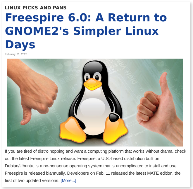 FreespireLinuxInsider