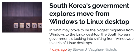 SouthKoreaLinux