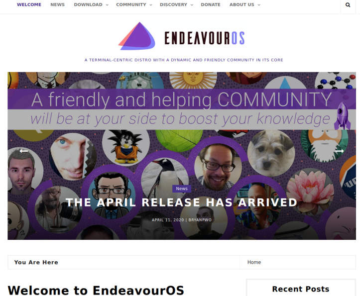 EndeavourWebsite