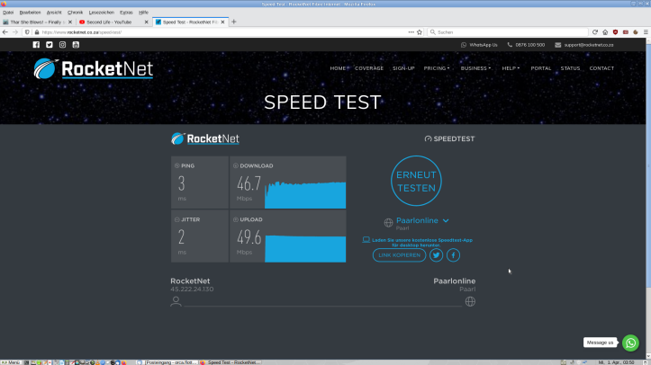 SpeedTest010420